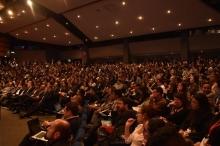 Público en auditorio principal