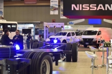 Stand Nissan - Muestra comercial