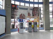 Cajeros Bancolombia y Banco de Bogotá